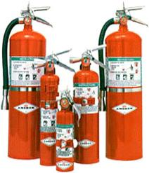 fire exitinguishers